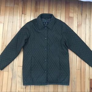 Barbour L210 tailored flyweight quilt jacket